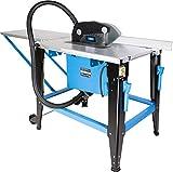 Güde 55150 Tischkreissäge GTKS 315/230V (2000W, Verzinkter Arbeitstisch, 83 mm Schnitthöhe, Transporträder, Fahrgriff)