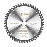 S&R Kreissägeblatt 160mm x 20mm(+ring 16mm) x2,2mm 48T, Wood Craft/Holz Kraft in Profiqualität