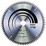 Bosch Professional Kreissägeblatt Optiline Wood (für Holz, 254 x 30 x 2,5 mm, 80 Zähne, Zubehör Kreissäge)