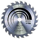 Bosch Professional Kreissägeblatt Optiline Wood (für Holz, 190 x 20 x 2,6 mm, 24 Zähne, Zubehör Kreissäge)