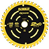 Dewalt DT10640-QZ Akku-Kreissägeblatt 165x20 40 WZ 18° für DCS391, Multi, 165 x 20 x 40T