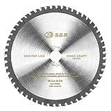 S&R Kreissägeblatt 190x30x2,4mm 54T zum Sägen in Multimaterial, Uni Cut, 54 Hartmetallzähne