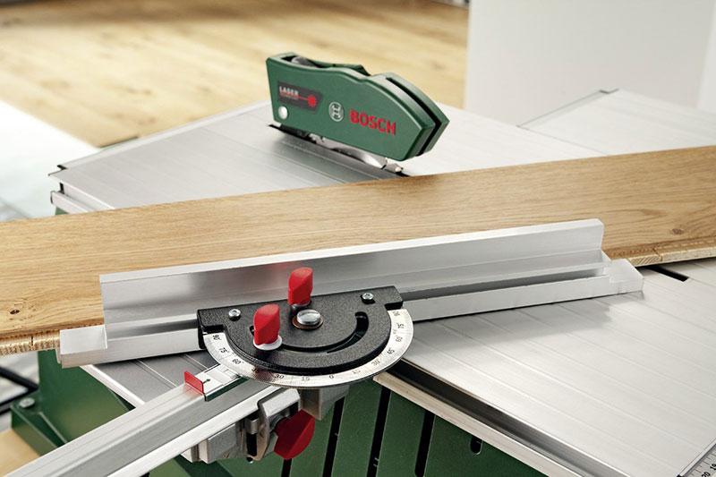 Bosch Tischkreissäge PPS 7 S mit Winkelanschlag