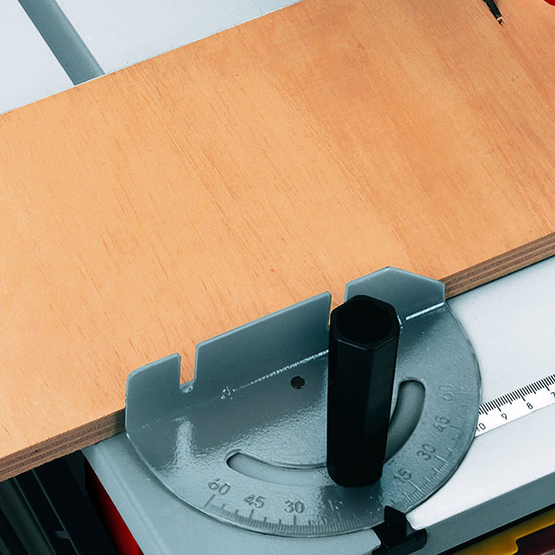 Winkelanschlag der Einhell Tischkreissäge