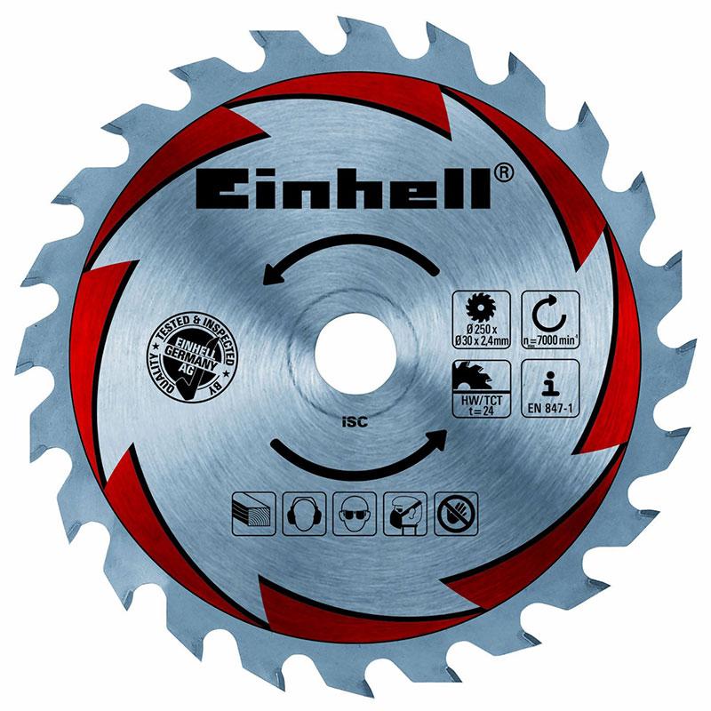Hartmetall-Kreissägeblatt von Einhell