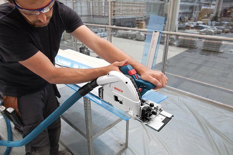 Plexiglas sägen mit der Bosch GKT 55 GCE