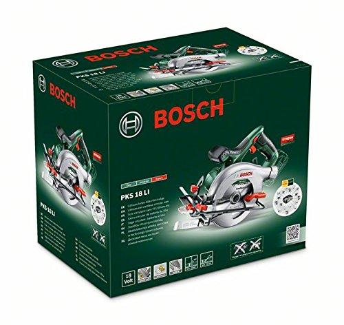 Verpackung der Bosch PKS 18