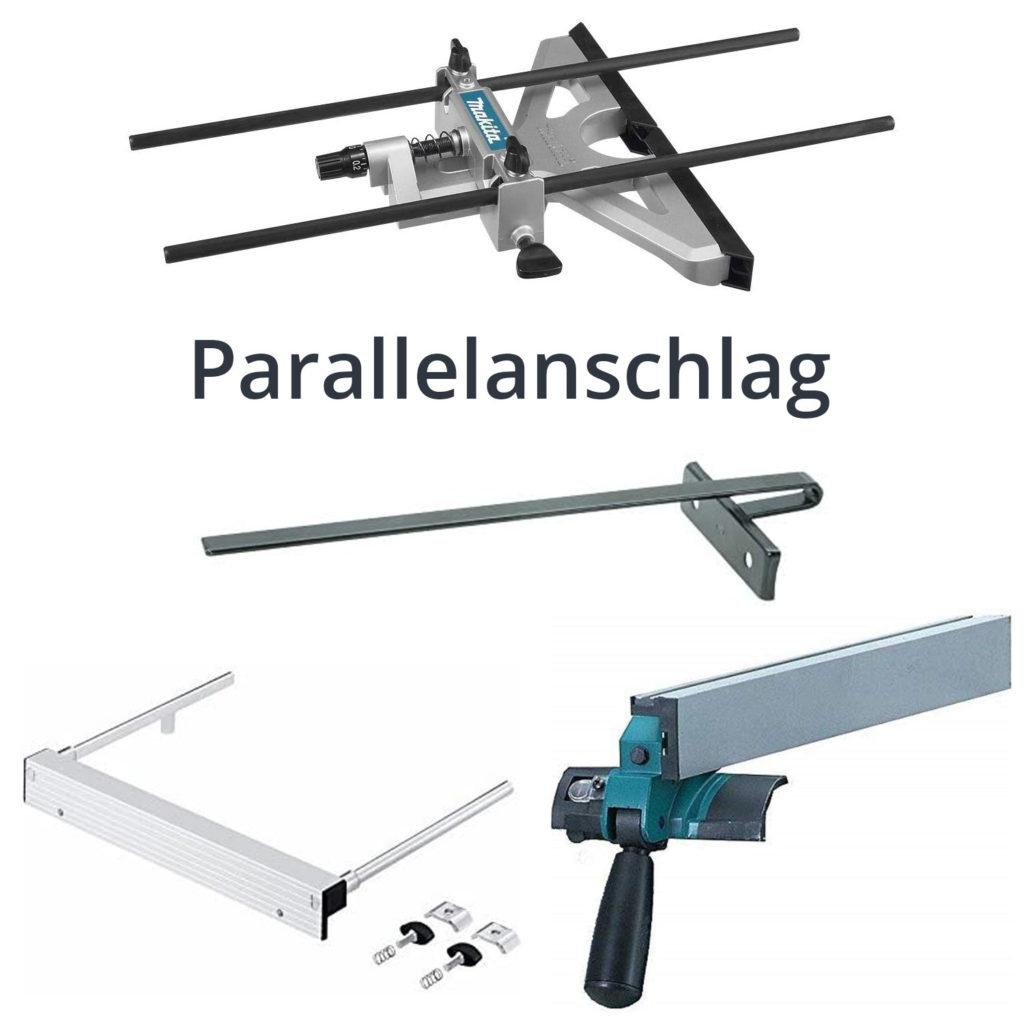 Parallelanschlag für Handkreissägen und Tischkreissägen