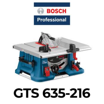 Bosch GTS 635-216 Tischkreissäge im Test