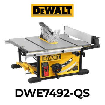 DeWalt DWE7492-QS Tischkreissäge im Test
