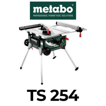 Metabo TS 254 Tischkreissäge im Test