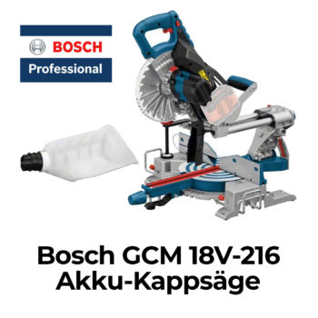 Bosch GCM 18V-216 Akku-Paneelsäge