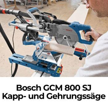 Bosch GCM 800 SJ Kapp- und Gehrungssäge