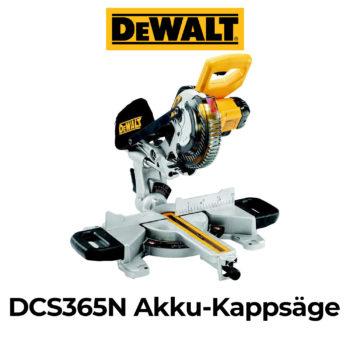 DeWalt DCS365N Akku-Kappsäge