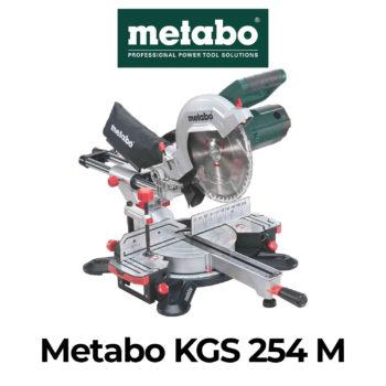 Metabo KGS 254 M Kapp- und Gehrungssäge Test